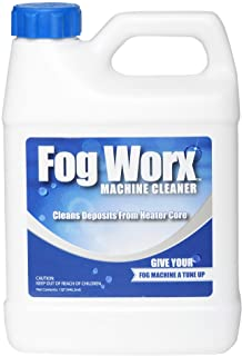 Fogworx Fog Machine Cleaner-1 Quart, Maintains Performance and Extends life of Water Based Machines