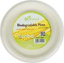 Biogreen Biodegradable Disposal Plate (20 Piece)