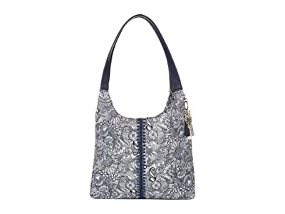 Sakroots Hermosa Hobo (Navy Spirit Desert) Handbags