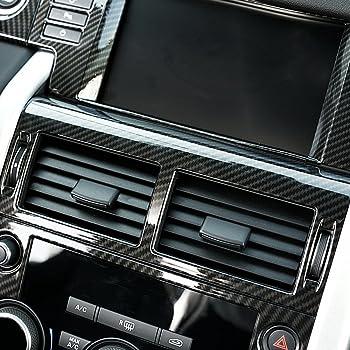 Pour Discovery Sport 2015/2016/2017/Accessoires Auto en aluminium Boutons de volume et la Climatisation Trim 4/pcs