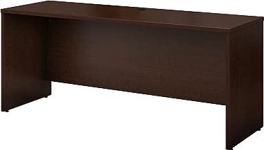 Bush Business Furniture Series C 72W x 24D Credenza Desk in Mocha Cherry