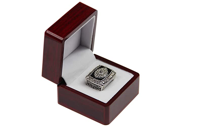GF-sports store Replica Championship Ring for 1976 Oakland Raiders Gift Fashion Gorgeous Collectible Ring