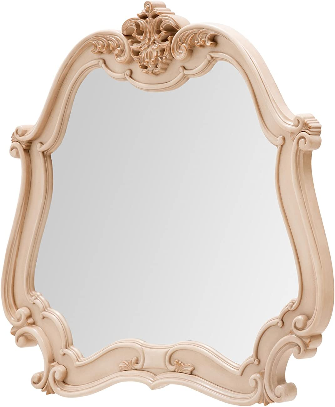 Michael Amini 9022667-04 In a popularity Lavelle Buffet Mirror Cottage Blanc Limited Special Price
