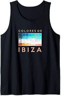 Ibiza Spain COLORS OF IBIZA Spanish Islands Tank Top