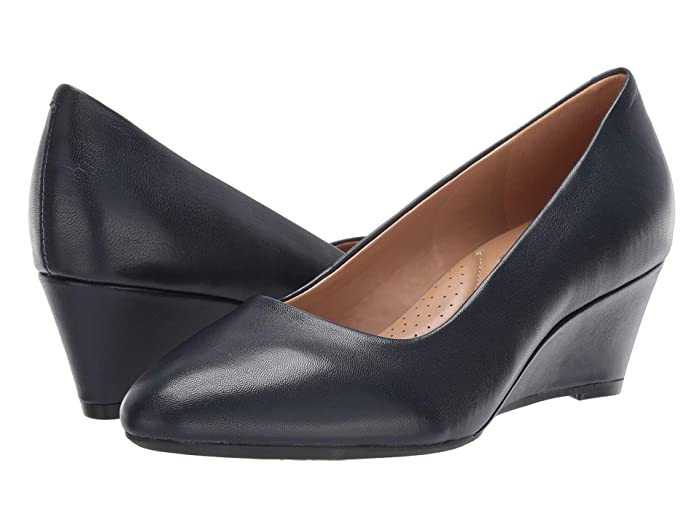 Aerosoles  Inner Circle (Navy Leather) Womens  Shoes