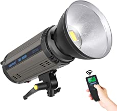 Neewer 100W 5600K Dimmable LED Video Light with Remote Control, 11000LM RA 95+ Continuous LED Video Lighting with LCD Display for Photo Studio Portrait Product Photography Video Shooting