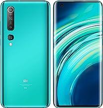 "Xiaomi Mi 10 128GB, 8GB RAM, 6.67"" DotDisplay, 108MP Quad Camera with 8K Video GSM LTE 5G Factory Unlocked Smartphone - International Version (Coral Green)"