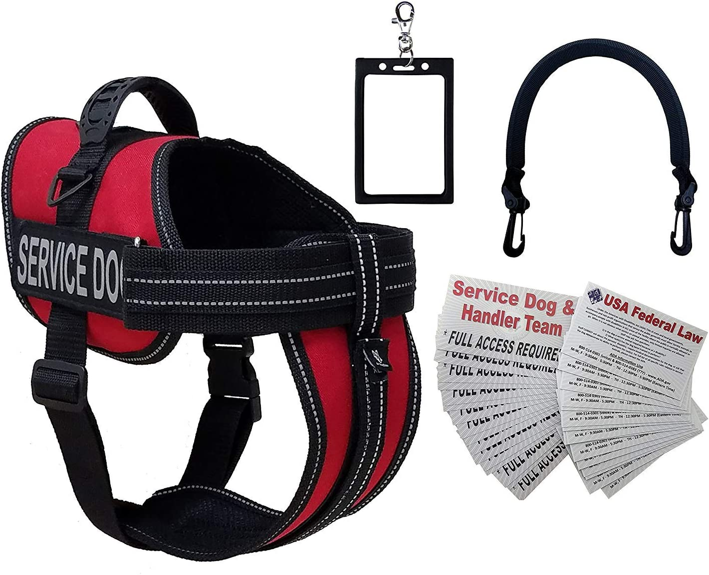 Activedogs Service Dog Vest Harness Bridge Clip-on Discount is also underway New arrival + Handle Free