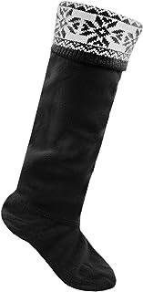 comprar comparacion Calcetines para botas Wellington RJM, de forro polar con la técnica Fairisle, para mujer