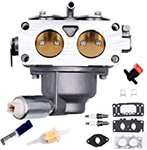 Carbman 791230 Carburetor with Gaskets kit for Briggs & Stratton 791230 799230 699709 499804 V-Twin 20hp 21hp 23hp 24hp 25hp Carb Manual Choke