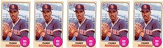 (5) 1993 Sports Cards #67 Frankie Rodriguez Baseball Card Lot Boston Red Sox