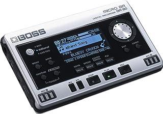 BOSS Micro BR Digital Recorder, Silver, (BR-80) (BR-80)