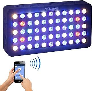 Roleadro Reef Led Light WiFi & Manual Control 165W,Aquarium Lighting LED Aquarium Light Full Spectrum for Reef Coral Fish