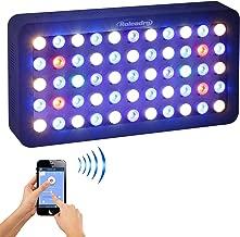Roleadro Reef Led Light WiFi & Manual Control 165W, Aquarium Lighting LED Aquarium Light Full Spectrum for Reef Coral Fish
