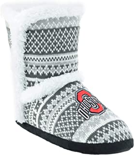 Campus Footnotes High End Knit Sherpa-Lined Boots Pick Your Team -