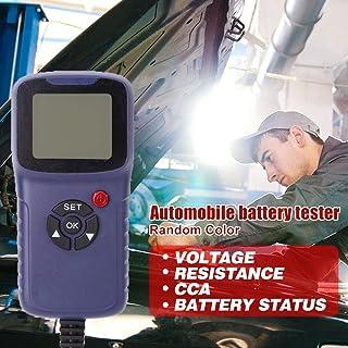 xiaoying Testador de bateria de carro, analisador de bateria, analisador de bateria digital automotivo para teste de resis...