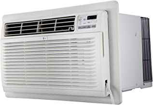 LG LT1037HNR 10000 230V Through-The-Wall with 11,200 BTU Supplemental Function Air Conditioner with Heat, 10,000, White