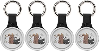 $28 » We Bar-e Bears Protective Case for AirTag Anti-Lost Anti-Scratch Skin Cover Tracker Holder with Key Ring Protective GPS Ai...