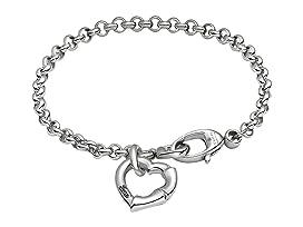 Bamboo Heart Bracelet