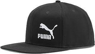 Puma Men's Ls Colourblock Cap ، أسود (أسود-أبيض)، مقاس واحد