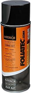 Foliatec 2002 Spray Color para Interior, Negro Mate, 400 Ml