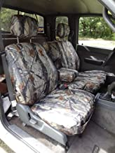 Durafit Seat Covers, Made to fit 1995-2000 Tacoma Xcab, Front 60/40 Split Bench Seat with Integrated Armrest Seat Covers in Camo Waterproof Endura Fabric