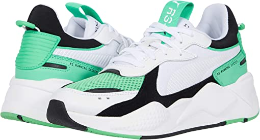 Puma White/Irish Green