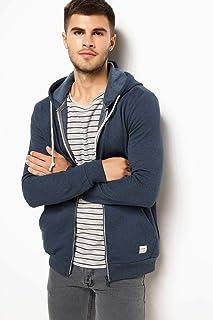 DeFacto Erkek Sweatshirt'ler Basic Kapşonlu Sweatshirt Hırka