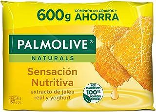 Jabón de Tocador Palmolive Naturals Jalea Real en Barra, 150 g, 4 Piezas