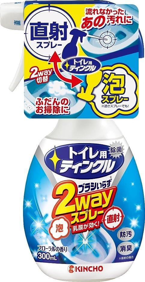 滴下対応どちらもトイレ用ティンクル トイレ洗剤 直射?泡 2wayスプレー 本体 300mL