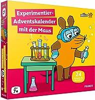 FRANZIS 67185 - Experimentier-Adventskalender 2021 mit der Maus, 24 Experimente zum Staunen, Lachen und Rätseln, für...