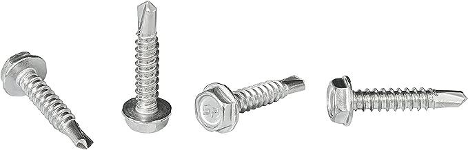 200 Hex Washer Head 5//16 x 1 Self-Drilling Tek Screw IHW