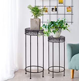 Plant Stand Nesting Tables Tables Home Kitchen
