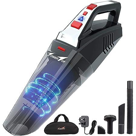 2020 Cordless Car Vacuum Cleaner Rechargeable Wet//Dry HEPA Handheld Duster Home