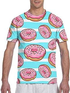 Flat Dinosaur Pattern Short Sleeve Tee Novelty Teen Unisex T Shirt