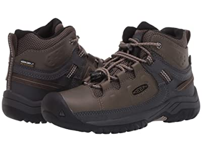 Keen Kids Targhee Mid WP (Little Kid/Big Kid) (Bungee Cord/Dark Olive) Boy