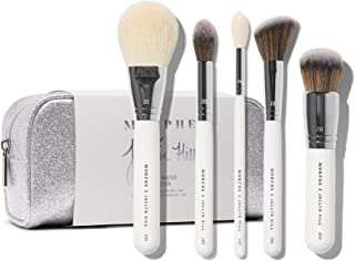 Morphe x Jaclyn Hill Makeup Brush Set - The Complexion Master Collection - Includes Bronzer, Foundation, Blush, Undereye P...