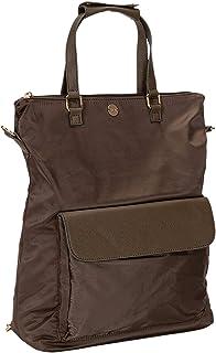 SIX Modischer Rucksack mit Metall-Applikationen, Verstellbarer Schultergurt, viele Taschen (539-469)