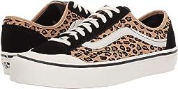 (Mini Leopard) Suede/Marshmallow