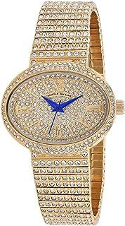 Christian Van Sant Women's Sparkler Quartz Stainless Steel Strap, Rose Gold, 20 Casual Watch (Model: CV0252)