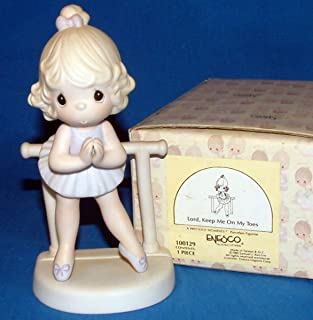 Precious Moments (Lord, Keep Me On My Toes) (with Original Box) (w/ Marking) (100129) (1985)
