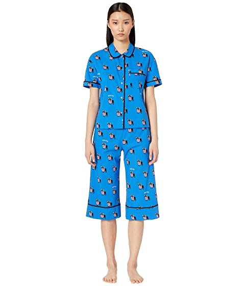 Kate Spade New York Cotton Lawn Capris Pajama Set