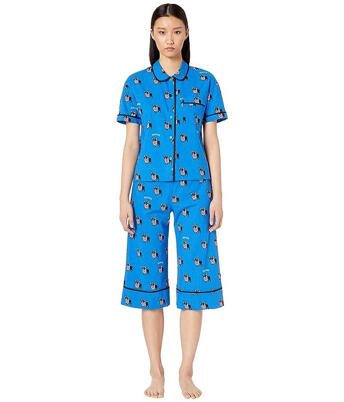 Kate Spade New York Cotton Lawn Capris Pajama Set (Antoine) Women