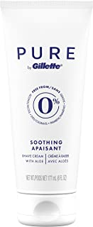Gillette Gillette Pure Soothing Shave Cream, 177 milliliters