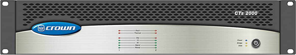 Best crown cts 2000 power amplifier Reviews