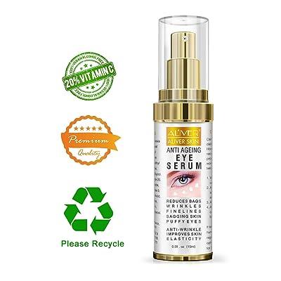 Eye Gel Serum, Reduces Wrinkles, Bags, Saggy Sk...