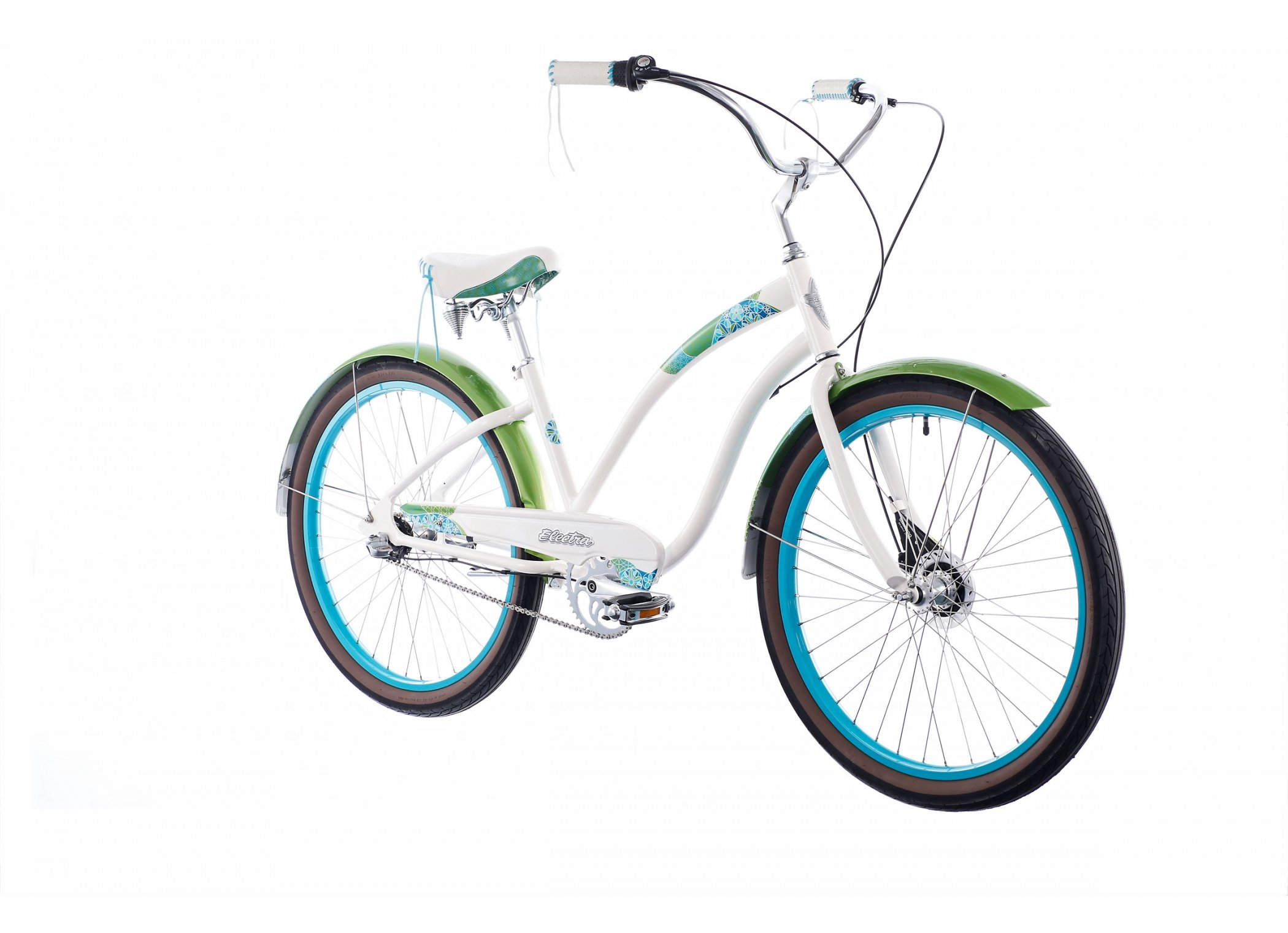 Bicicleta Cruiser Electra Bike Cirque 3i blanco para mujer 2014 ...