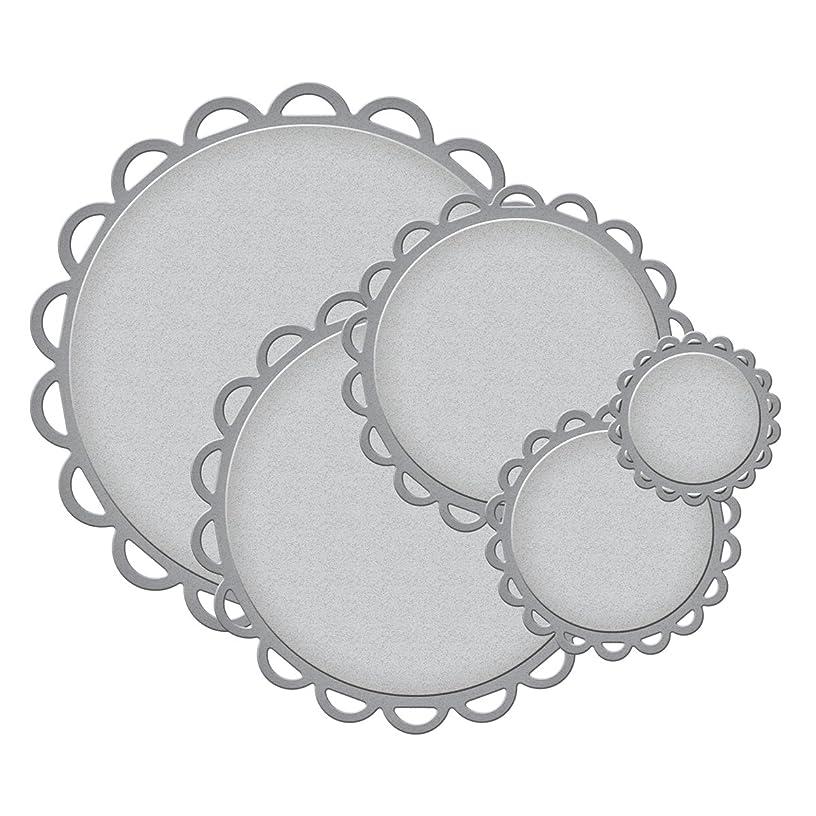 Spellbinders Nestabilities Decorative Elements Dies, Lacey Circles