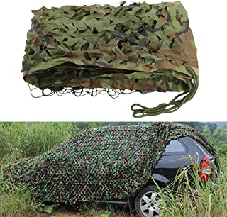 Littleducking 3m X 5m Camouflage Net Camo Netting Oxford Fabric Hunting Shooting Hide Army for Camping Hide