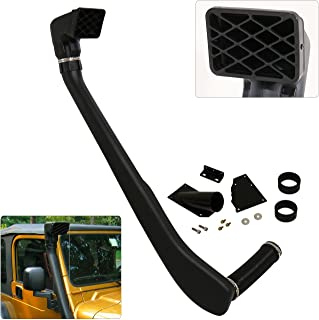Jeep Wrangler Tj Yj Snorkel Ram Air Intake System Black 4X4 4Wd Off Road